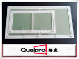 De sterke Drywall van het Frame van het Aluminium Valdeur met Met een laag bedekt Poeder beëindigt AP7710