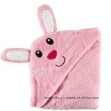 Полотенце ванны младенца высокого качества с капюшоном с вышивкой