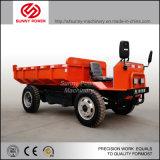 Camion à benne basculante électrique 4tons pour l'usage au sol d'exploitation