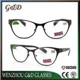 Popular de metal de alta calidad de diseño de gafas de lectura