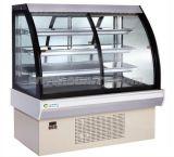 Congelador do indicador da sobremesa do refrigerador do indicador do bolo