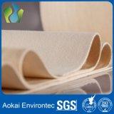 Tissu industriel non tissé de feutre de filtration Nomex/Aramid/Metamax