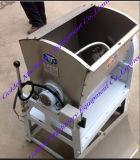 水平の食糧小麦粉の粉のこね粉ミキサー練る機械