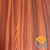 Papel decorativo da grão de madeira do bordo para a mobília, assoalho de China