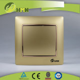 Interruttore BIANCO della parete di MODO variopinto del piatto certificato CE/TUV/CB 1 di standard europeo