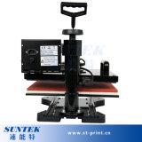 Prensa térmica plana de aluminio multifunción de la máquina de impresión
