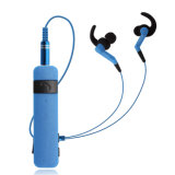 Novo logotipo personalizado 2018 auriculares para o pescoço sem fios elegante V4.2 fones de ouvido Bluetooth