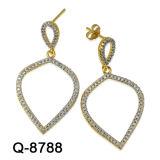 Nieuw Ontwerp 925 de Zilveren Juwelen Hotsale van Oorringen