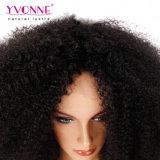Горячая Продажа 250% плотность выходцев из вьющихся волос человека спереди кружевом парики Соединенных Штатов Бразилии естественный цвет волос