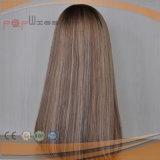 Cheveux humains Haut de la peau de couleur claire Lace Wig (PPG-L-0272)