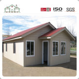 Qualitäts-helles Stahlrahmen-Ausgangslandhaus-vorfabrizierthaus