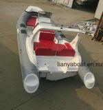 Barca della nervatura della baracca della barca del pontone di Liya 27FT Hypalon da vendere