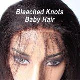 Таким образом Dlme Черный Wig Kinky прямой синтетические волосы