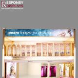 Materiales compuestos cosméticos Piso Five-Tier personalizado Soporte de pantalla con el cabezal
