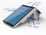 アンドロイド5.1のバーコードのスキャンナーのオールインワンスマートな携帯用接触POSの支払ターミナルPT7003 NFC Msr EMVチップカード読取り装置および組み込みの熱プリンター