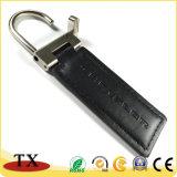 Neues Art-Leerzeichen-Leder-Schlüsselring