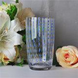 Lang Mond Geblazen het Drinken van het Water Glas
