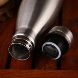 De beste Verkopende Dubbele Thermosflessen van het Roestvrij staal van de Muur/de VacuümFlessen van het Water van de Fles/van de Douane