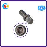 DIN/ANSI/BS/JISの炭素鋼かステンレス製のハンドルの円柱ヘッド圧延亜鉛機械標準外ねじ