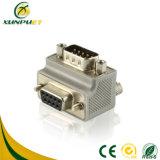 90 grados de PCB VGA Macho a hembra Adaptador
