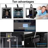 3D CR2020 One-Key Nivelamento Automático funcionar plenamente LED montados impressora 3D grande tamanho de impressão 200x200x200mm