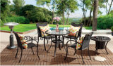 /Rattan esterno/presidenza & Tabella del rattan mobilia del giardino/patio/hotel impostate (HS 1025C&HS 6080BDT)