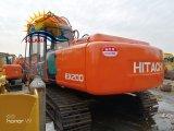Verwendeter Gleisketten-Exkavator Baugerät-hydraulischer Exkavator-Hitachi-Ex200