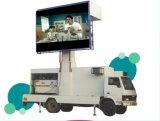 P8mm LED a todo color al aire libre que hace publicidad de la visualización LED Van