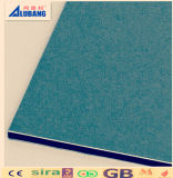 comitato composito di alluminio dei materiali della costruzione di edifici del rivestimento di 4mm PVDF