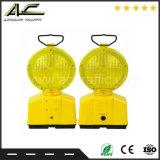 Boa Qualidade Preço Razoável Luz Barricade Solar com suporte de metal
