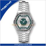 La marca de fábrica superior automática de la venda sólida del acero inoxidable del fabricante 316L del reloj de Shenzhen mira a hombres