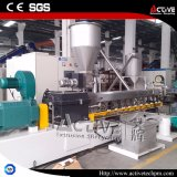 2017 Dirty Hot! ! Co Rotating Parallel Twin Screw Extrusion Line for Plastic Granulates Making