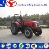 110 PK van Landbouwmachines/Diesel Landbouwbedrijf/Tuin/de Compacte die/Tractoren bewerken die van de Tweede Hand van de Tractoren van de Tractor/van het Landbouwbedrijf van het Gazon/van het Landbouwbedrijf in de Tractoren van China/van het Landbouwbedrijf in Tractoren wordt gemaakt