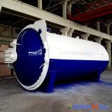 건축 유리를 만들기를 위한 3000X9000mm 전기 난방 유리제 오토클레이브