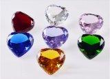 Policromático de alta qualidade Diamante de cristal Crystal artesanato para Home Casamento aniversário dons Sovenir decorativas