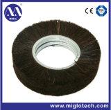 De aangepaste Industriële Spiraalvormige Borstel van de Borstel van het Haar van het Paard van de Borstel voor het Deburring het Oppoetsen (Th-100010)