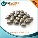 Teclas da matéria- prima de carboneto de tungstênio para a rocha e a broca