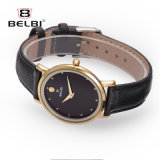 Neutre Belbi Business Watch Hommes et femmes occasionnels de mode simple de regarder en cuir