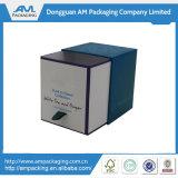 印刷のロゴの蝋燭のギフトのPacakaging個人化された無光沢の黒いボックス