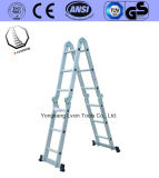 上の安全な屋外の多目的梯子の家具