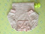 신생 아기는 2개의 색깔 면 아기 장난꾸러기를 입는다