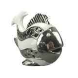 Peixes cerâmicos Home personalizados do suporte de vela da decoração