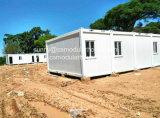 Casa modular prefabricada del envase de la casa del edificio en marco de la estructura de acero