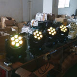 Professionista 7PCS 15W RGBW 4 in 1 indicatore luminoso capo mobile della lavata del LED