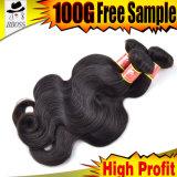 Объемная волна бразильского выдвижения волос