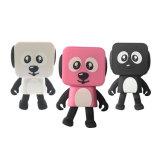 Altoparlante astuto del robot di musica del cane bello sveglio di Dancing per il compleanno dei capretti