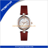 Manier Bijuterias Dame Wristwatch Genuine Leather Strap