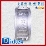 Didtek API598 Prüfungs-Edelstahl-Oblate-Typ Rückschlagventil