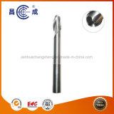 Personalizar las flautas de 2/3/4/5 punta de bola Molino de final de carburo sólido para corte de alta velocidad se utiliza en torno CNC