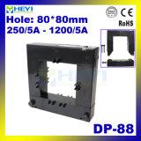 Type ouvert transformateur de courant de basse tension de Heyi Dp-88 de bobine fendue de la sortie 1A/5A de Cts 1000A